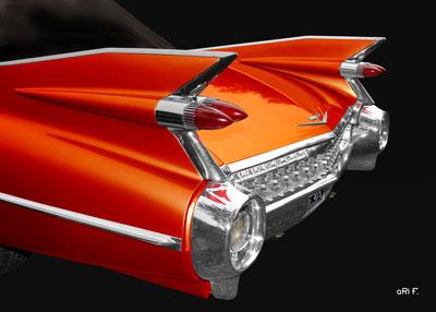 1959 Cadillac Serie 62 US-Klassiker Poster