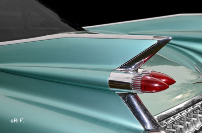 1959 Cadillac Serie 62 US-Klassiker in original color green