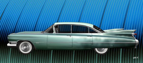 1959 Cadillac Serie 62 in original color