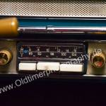 Opel Olympia Rekord mit original Blaupunkt-Radio
