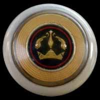 Logo Renault Dauphine auf Lenkrad