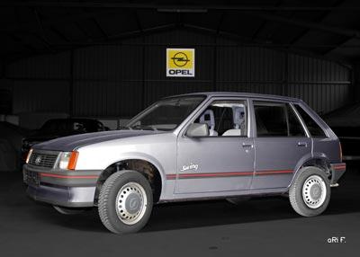 Opel Corsa A in Originalfarbe