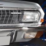 Opel Diplomat A V8 Coupé Detailansicht auf Scheinwerfer