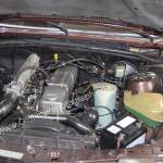 Opel Monza 3.0 E Motorraum mit 180 PS