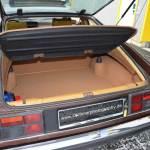 Opel Monza Kofferraum mit 425 l Fassungsvermögen Rückbank umgeklappt 765 Liter