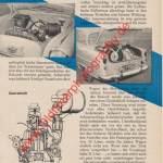Opel Olympia Rekord Werbung Advertising von 1956 Seite 85