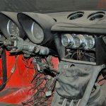 Alfa Romeo Spider mit zahlreichen Rundinstrumenten
