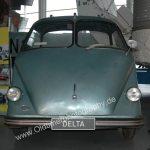 Dornier Delta von 1955 und 300ccm Triumph Motor 14 PS gilt als der Vorgänger von Janus 250