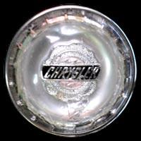 Logo Chrysler auf Lenkrad im Imperial Serie C54