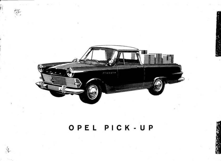 Opel P2 Pick-up