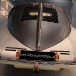 Tatra 87 Detailansicht auf Heckflosse hinten