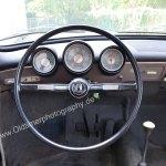 VW 1500 mit 3 Rundinstrumenten Lichtschalter links und Heizungsregler rechts