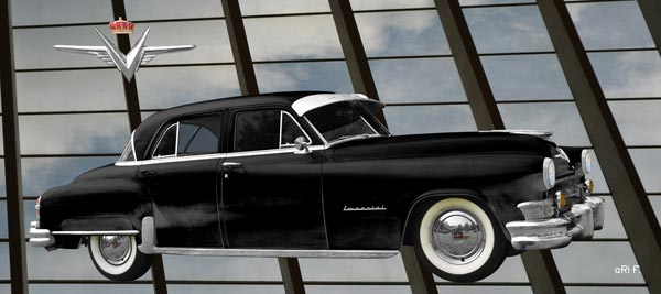 1952 Chrysler Imperial in only black