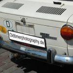 Fiat 850 Special Heckdetailansicht