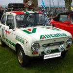 Fiat 850 Special im Alitalia-Look