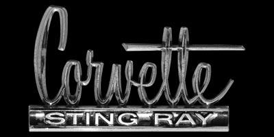 Logo Chevrolet Corvette Sting Ray
