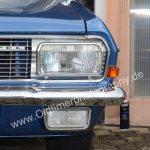 Opel Diplomat A Frontdetail mit Scheinwerfer und serienmäßigen Nebelscheinwerfer unten