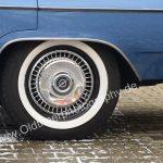 Opel Diplomat A Radausschnitt hinten