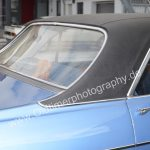 Opel Diplomat A Vinyldach von hinten