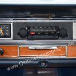Opel Diplomat A mit Blaupunkt Kassetten-Radio