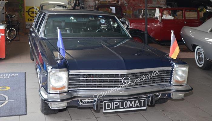 Opel Diplomat B Langversion mit 15 cm mehr Länge auf 5,23 m