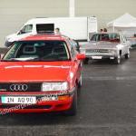 Audi Quattro am Audi-Stand