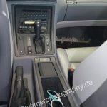BMW 850i Interieur Mittelkonsole mit 3-Gang Automatik