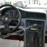 BMW 850i Instrumententafel und Mittelkonsole