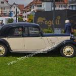 Citroen Traction Avan im Duotone-Look