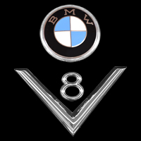 Logo BMW 502 V8