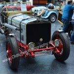 Messehalle Eingang West für britische Oldtimer Rolls-Royce Phantom II Satis 1930