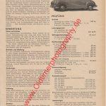 BMW 501 A 2.0 Liter Seite 691 Motor-Rundschau August 1954