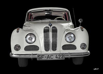 BMW 502 in Originalfarbe