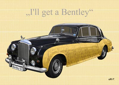 Bentley S2 in special colors