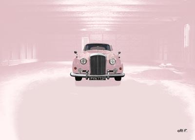 Bentley S2 think pink im Seehasenfundus Friedrichshafen-Ailingen
