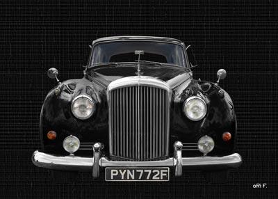 Bentley S2 in black & black