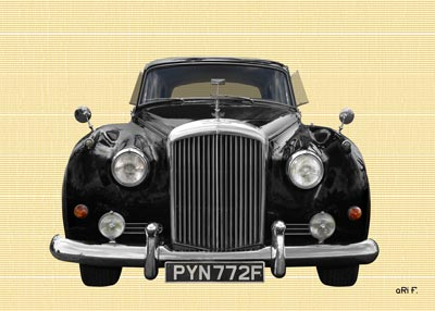 Bentley S2 in black & chamoise