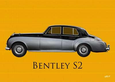 Bentley S2 in original color