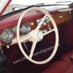 BMW 502 Interieur mit 3 Rundinstrumenten
