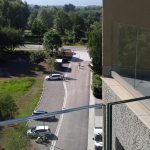 MAC2 Terrasse im 5. Stock mit Blick Richtung Stadt Singen