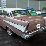 Chevrolet Bel Air 1957 rear view