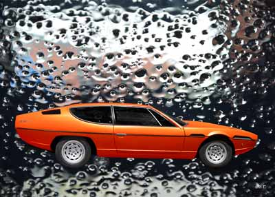 Lamborghini Espada water proofed by aRi F.