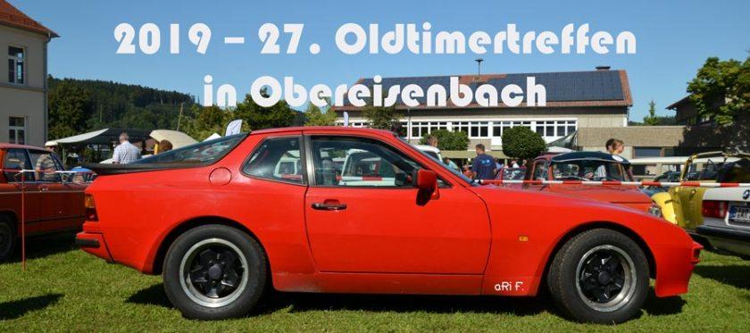 2019 – 27. Oldtimertreffen Obereisenbach
