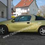 Opel Tigra in Brokatgelb Metallic