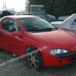 Opel Tigra in Magmarot Brillant