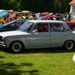 Fiat 128 mit Sportfelgen 1969–1972