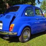 Fiat 500 mit Baujahr 1965 beim Oldtimertreffen