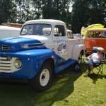 Herbert'z Ford Pick-up im Schloßgartgen von Wolfegg