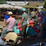 Motorroller beim Oldtimertreffen Obereisenbach