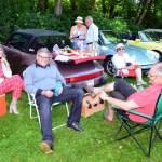 Oldtimer Picknick im Hofgarten von Schloss Wolfegg